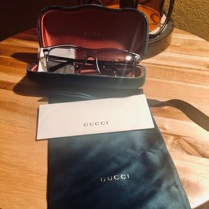 Gucci Sunglasses Grey Frame/Lens